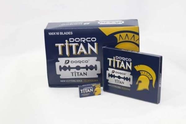 10 Hộp dao lam Dorco titan 1 hộp 10 chiếc tổng 100 chiếc, siêu bén và bền so với các dòng dao lam thông thường, sản phẩm tốt, chất lượng cao cao cấp