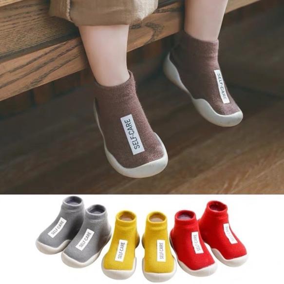 Giày bún cổ cao cho bé trai bé gái giày tập đi cho bé giá rẻ