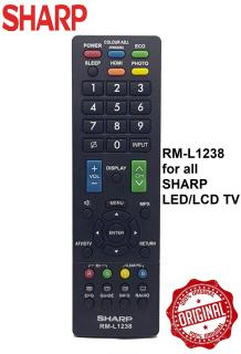 REMOTE ĐIỀU KHIỂN TIVI SHARP RM-L1238 CHO TẤT CẢ CÁC DÒNG TIVI SHARP thumbnail