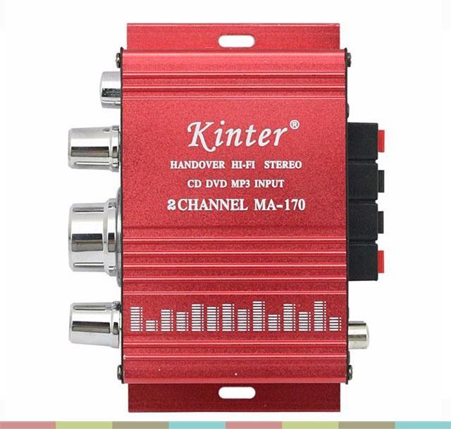 Bộ khếch đại âm than mini 12v-Bộ âm ly mini khếch đại âm thanh-Âm ly cho loa Nhật Bản