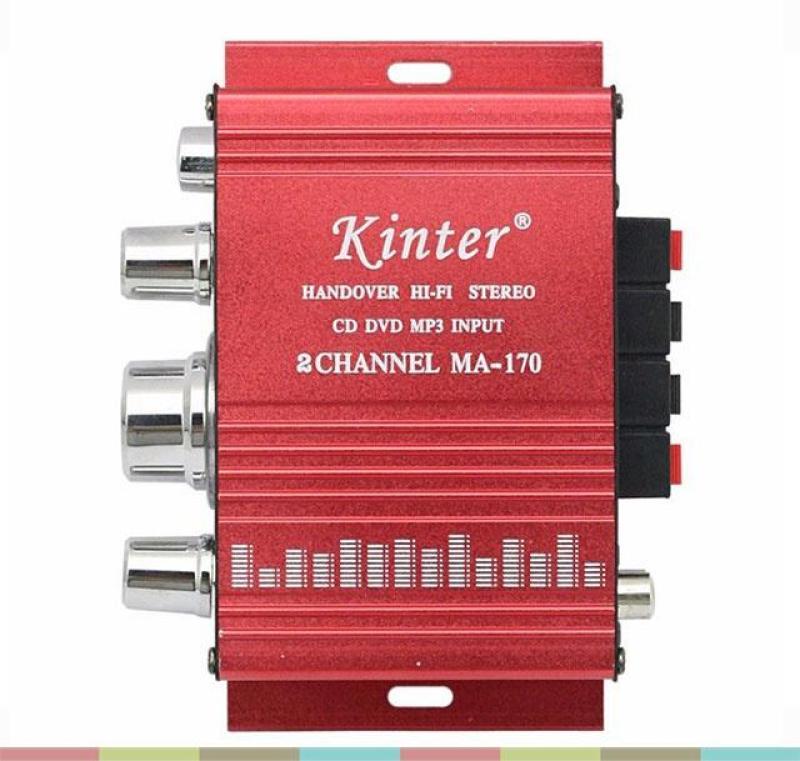 Bộ khếch đại âm than mini 12v-Bộ âm ly mini khếch đại âm thanh-Âm ly cho loa