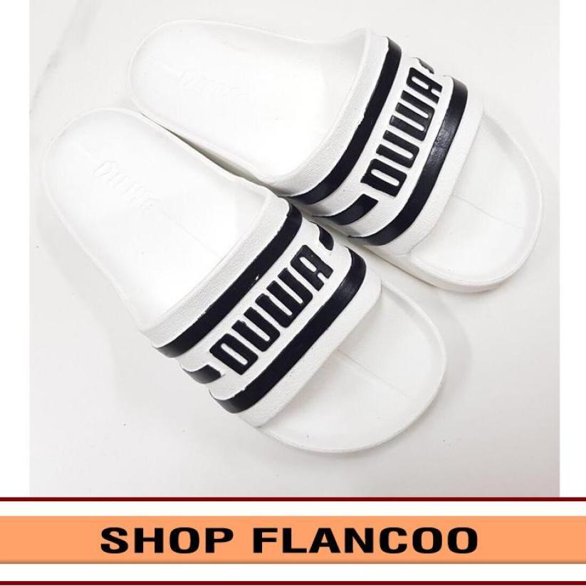 (phom lớn, giảm 1 size khi đặt) Dép đúc quai ngang nam 5 màu cá tính thời trang siêu nhẹ siêu bền FLANCOO TA219 giá rẻ