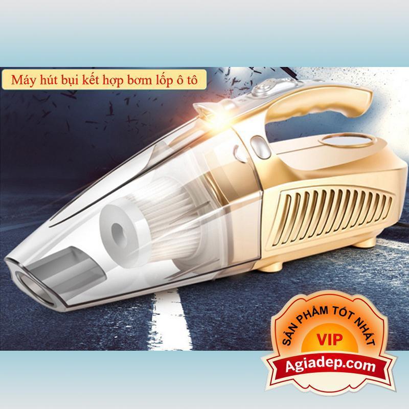 Máy Hút bụi cầm tay kiêm Bơm lốp xe - Hàng cao cấp chuyên dùng cho xe oto, xe hơi của Agiadep - 0001