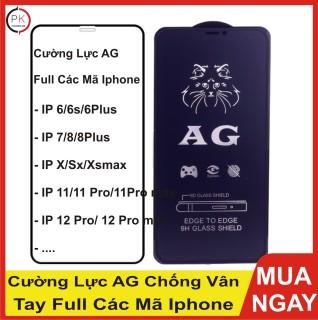 Cường Lực Iphone Full Màn AG Chống Vân Tay - Mồ Hôi thumbnail
