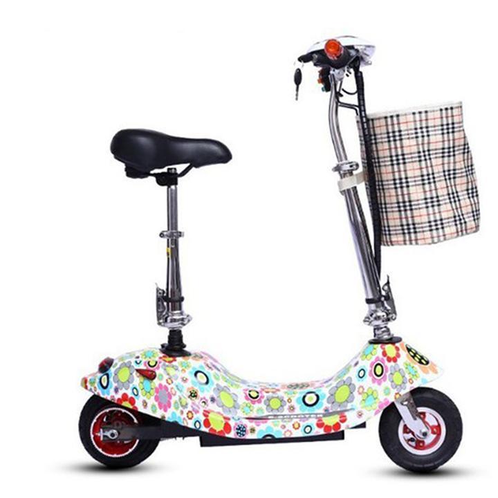 Giá bán Xe Điện Scooter Tải Trọng 120kg, Xếp Gọn