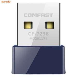 COMFAST CF-723B Bộ Chuyển Đổi WiFi Bluetooth 2 Trong 1 USB Card Mạng Không Dây