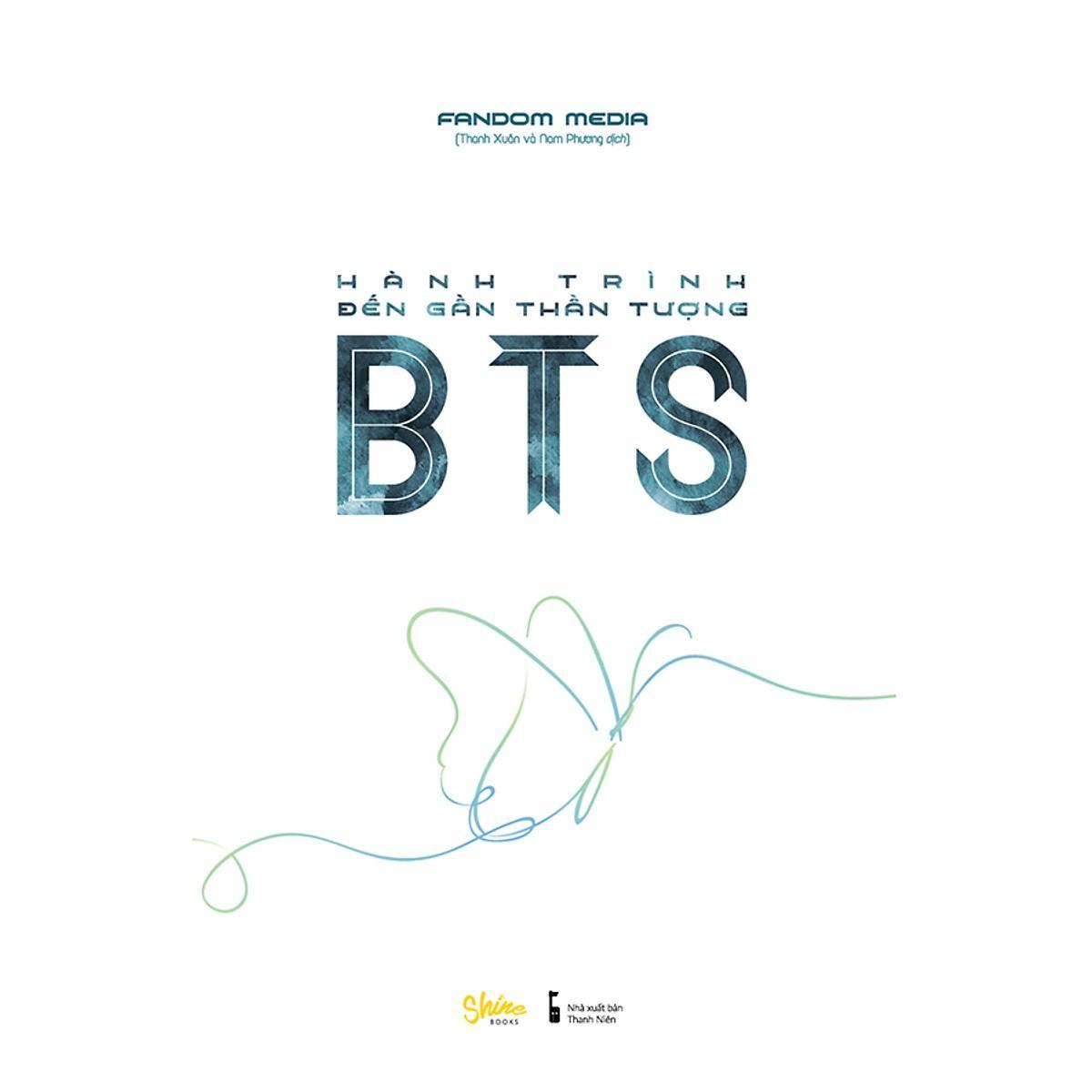 Sách Thật - Hành Trình Đến Gần Thần Tượng BTS ( Tặng Kèm 1 Postcard + 1 Sticker ) Duy Nhất Khuyến Mại Hôm Nay