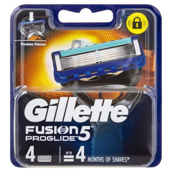 Hộp lưỡi dao cạo râu Gillette 5 lưỡi Fusion Proglide( xả kho sale mạnh) cao cấp