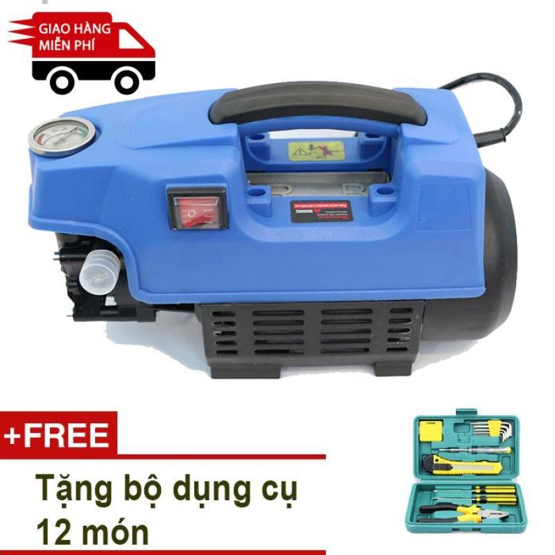 Máy rửa xe cao áp cảm ứng từ Kachi MK71 + TẶNG bộ dụng cụ 12 món