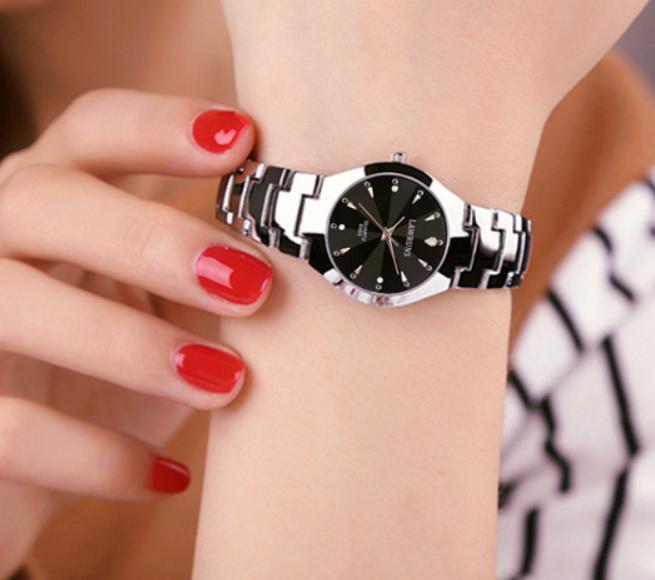 Đồng hồ nữ cao cấp LAWRUNS chống trầy chống nước bán chạy