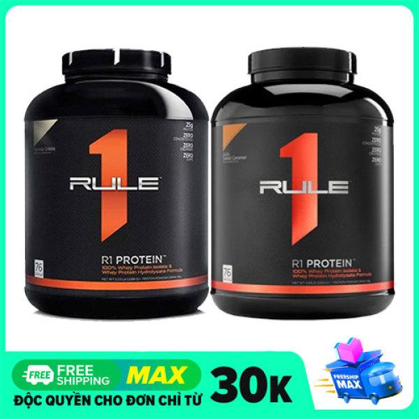 Rule 1 Protein Whey Protein Thủy Phân Hộp 5lbs - 2.7kg nhập khẩu