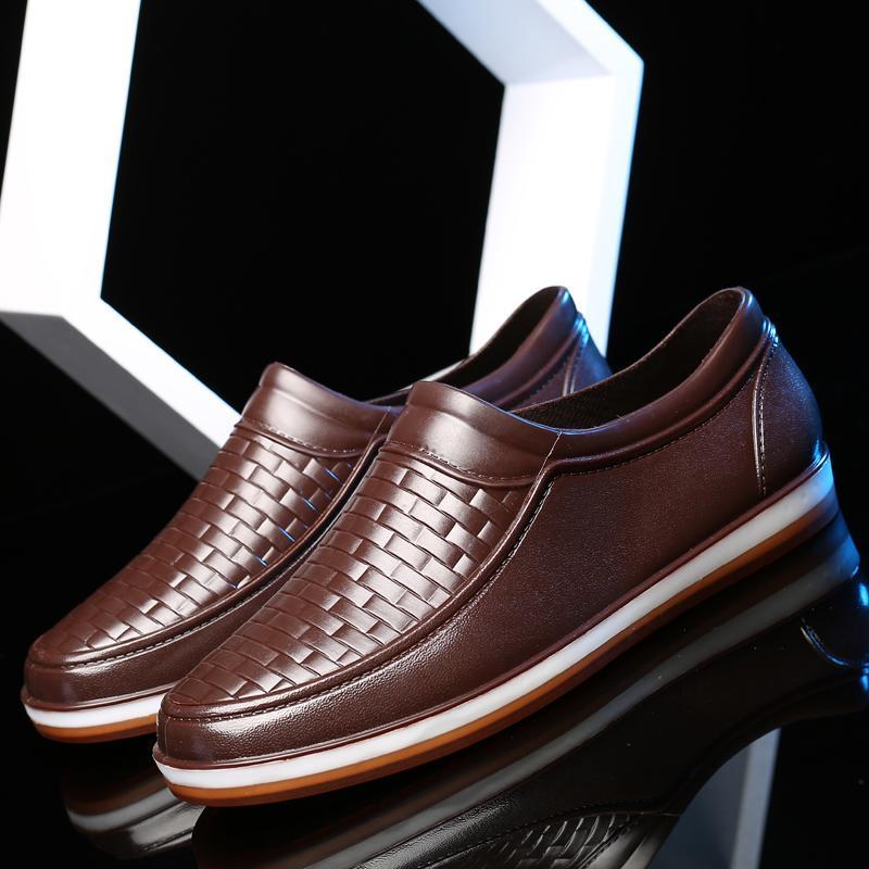 Giày lười nam  New 2020 Đi mưa chống nước và không nhàu phong cách giày nam đẹp công sở, dạo phố cá tính