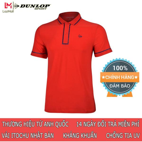 DUNLOP - Áo Tennis nam Dunlop - DATES9099-1C Hàng chính hãng Thương hiệu từ Anh Quốc Đổi trả miễn phí