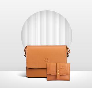[COMBO] Túi đeo chéo nữ YUUMY YN90 + Ví nữ cầm tay YUUMY YV29 thumbnail