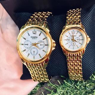 Đồng hồ thời trang nam nữ Rosra MS09 mặt trắng dây nhuyễn thumbnail