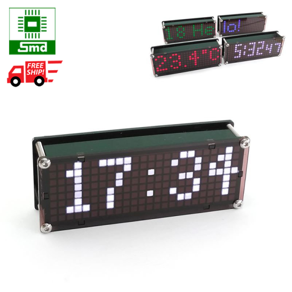 Nơi bán Đồng hồ led Matrix Mini V2