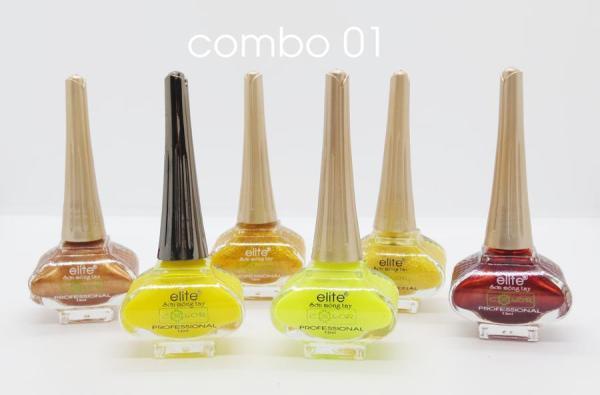 COMBO 06 Chai Sơn Móng Tay Elite MS35 - 13ml - Giá siêu Rẻ tốt nhất