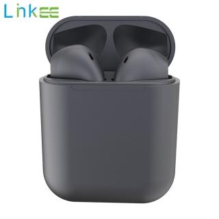 Tai Nghe Bluetooth Macaron InPods 12 Tai Nghe Không Dây Nhét Tai Stereo Cảm Ứng Thông Minh Có Hộp Sạc Cho Android Huawei Xiaomi Samsung OPPO Vivo I12 Màu Kim Loại Mới thumbnail