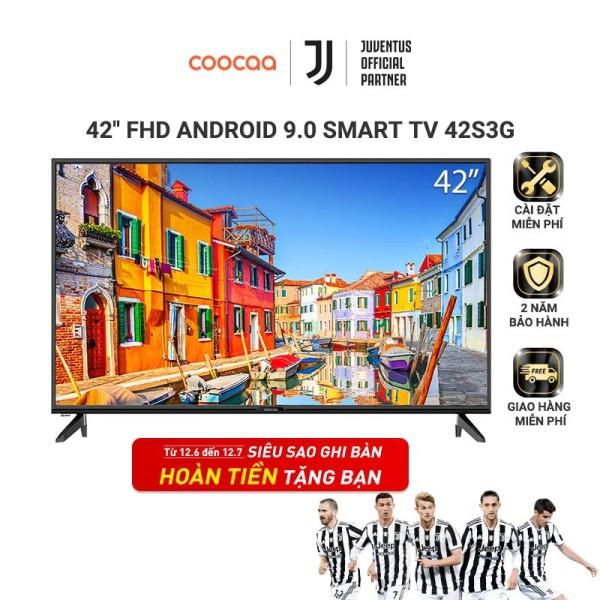 [HCM]Smart Tivi Full HD Coocaa 42 inch - Android 9.0 - Model 42S3G - Bảo hành chính hãng 24 tháng