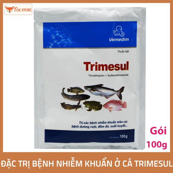 Trimesul – Dùng cho các bệnh nhiễm khuẩn ở cá (gói 100g)