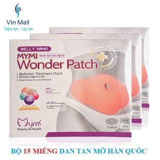 [HCM]Bộ 15 Miếng Dán Tan Mỡ Bụng Mymi Wonder Patch Hàn Quốc thumbnail
