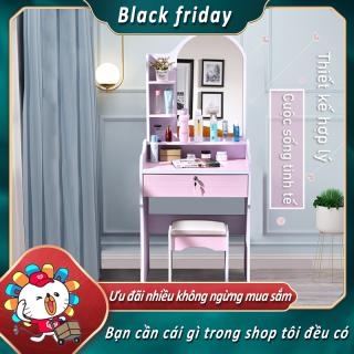Bàn trang điểm phòng ngủ bàn trang điểm ngôi nhà nhỏ đơn giản tủ lưu trữ đơn giản Black friday thumbnail