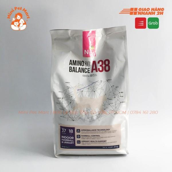 Thức ăn hạt cho mèo trưởng thành bị sỏi thận AMINO BALANCE A38 1,8kg