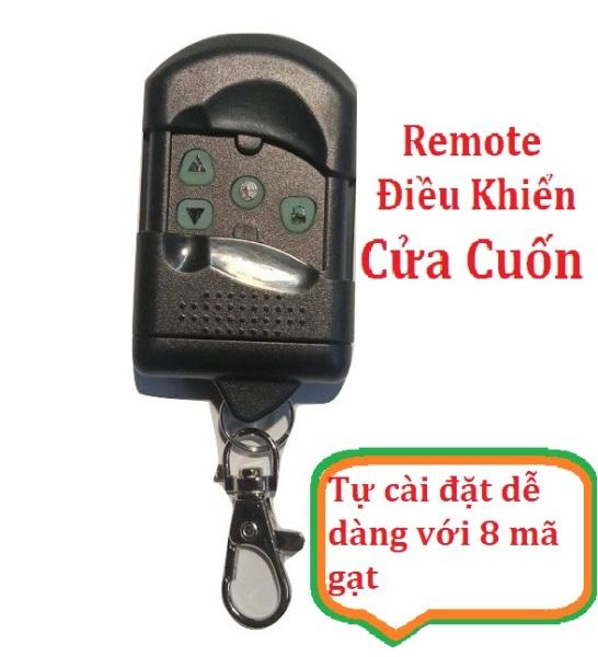Remote Điều khiển cửa cuốn mã gạt - YS168L - Tự cài đặt dễ dàng