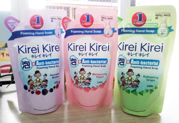 Bọt rửa tay Kirei Kirei túi 200ml