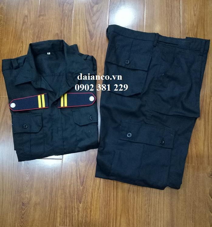 KHUYẾN MÃI - Bộ quần áo bảo vệ, quần áo vệ sĩ tay ngắn , quần túi hộp không kèm cầu vai