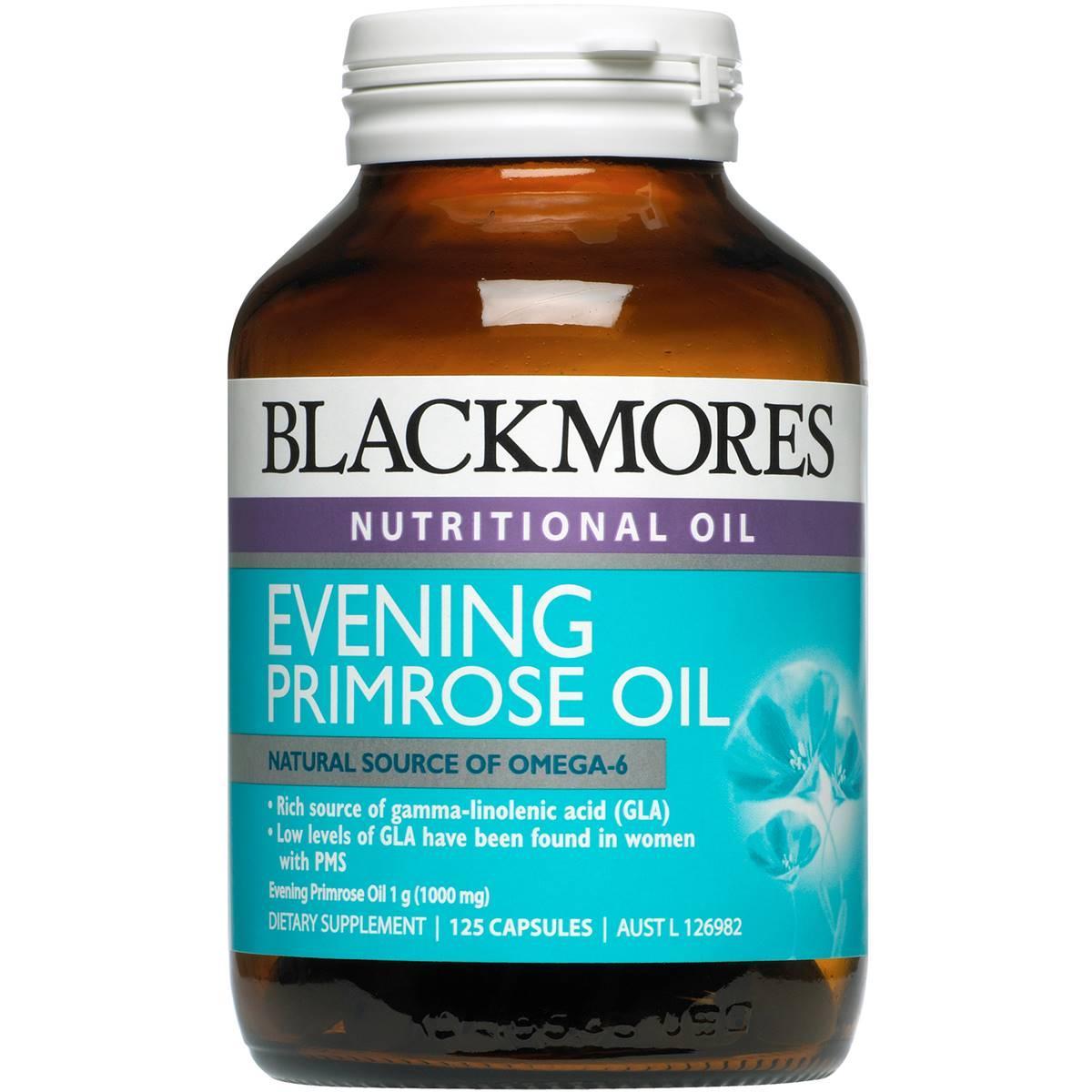 Tinh dầu hoa anh thảo Blackmores Evening Primrose oil 190 viên, Úc cao cấp