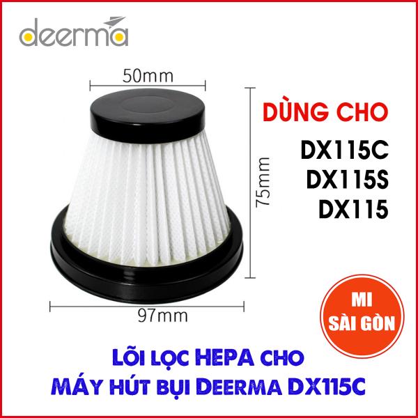 Bộ Lọc Hepa Cho Máy Hút Bụi Deerma DX115C / DX115S / DX115