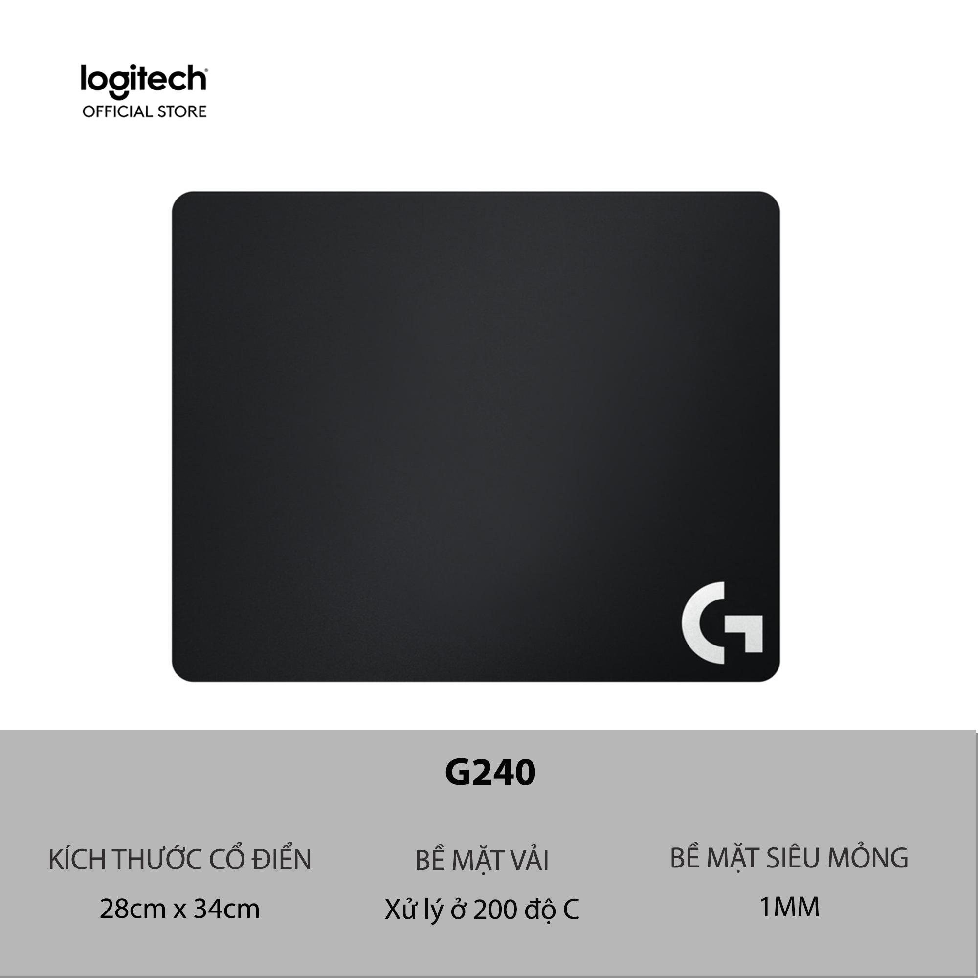 Bàn Di Chuột Chơi Game Logitech G240 - Mousepad Mềm By Logitech Official Store