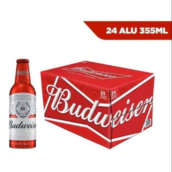 Bia Budweiser Alumium (chai nhôm)