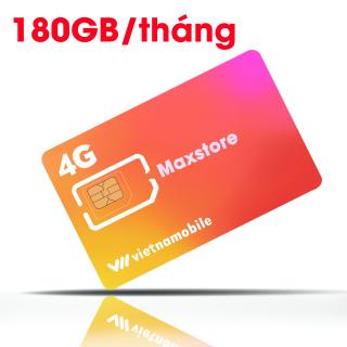 Siêu Thánh Sim 4G Mới Vietnamobile - Miễn Phí 180GB Tháng - Miễn Phí Tháng Đầu - Nghe Gọi Cực Rẻ thumbnail