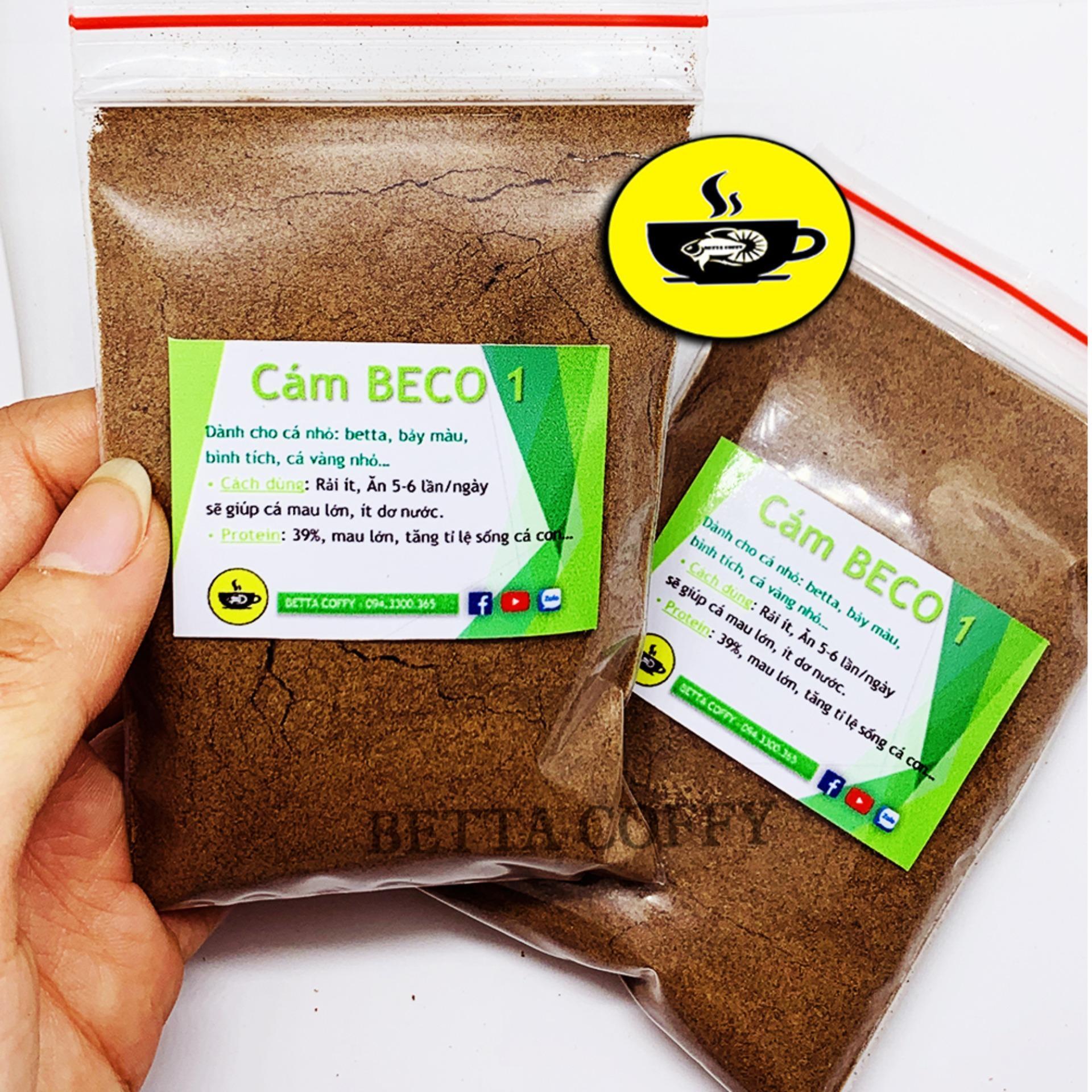 Cám Beco 1 - Thức ăn cá con - Gói nhỏ 40g