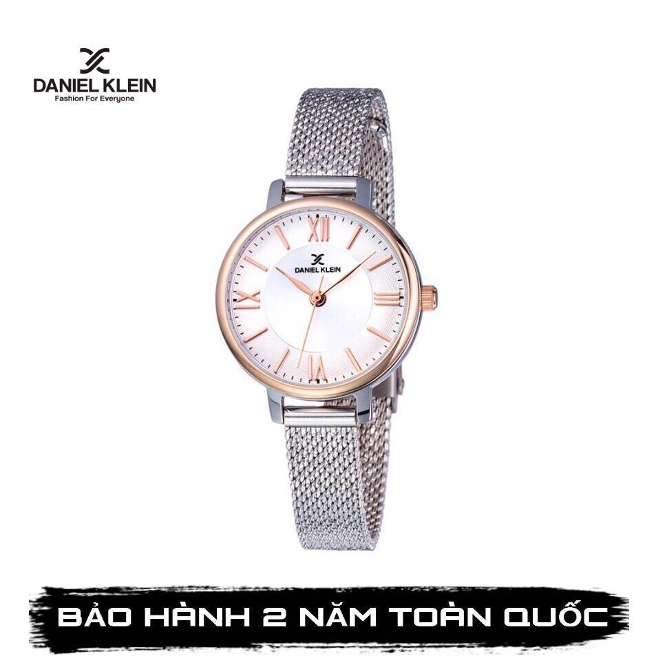Nơi bán Đồng hồ nữ Daniel Klein DK11897-3 Full Hộp,Thẻ Bảo Hành Hãng , Kính cứng, Chống Nước,dây thép