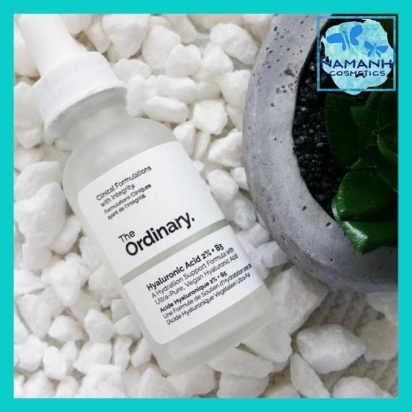 Serum dưỡng ẩm đa cấp The Ordinary Hyaluronic Acid 2% và Vitamin B5 Hydration Support Formula 30ml