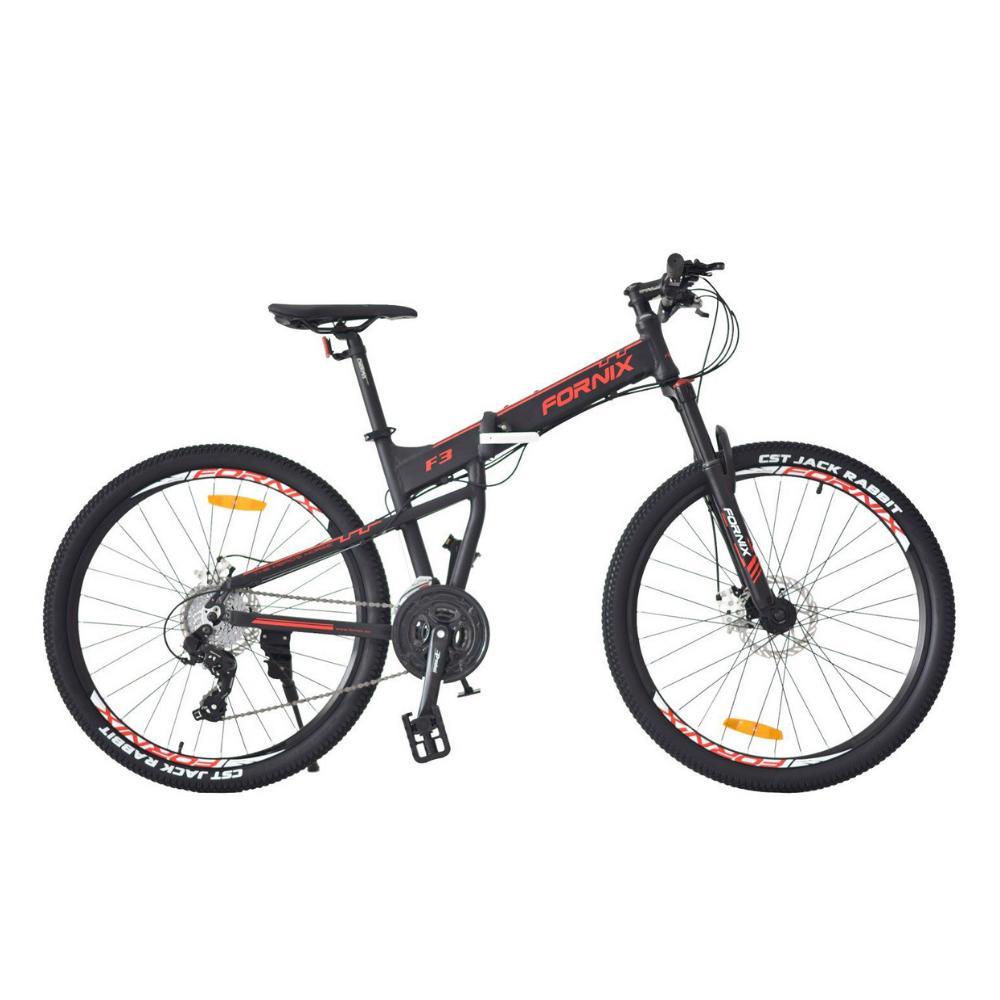 Mua Xe đạp gấp địa hình F3 màu đen mạnh mẽ