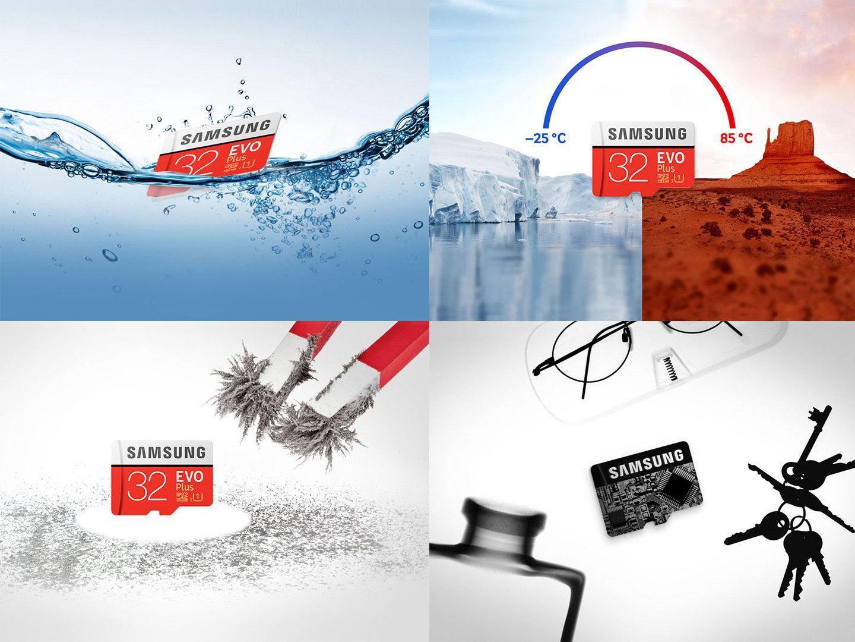 Thẻ Nhớ Micro SD Samsung Evo Plus U1 32GB Class 10 Kèm Adapter