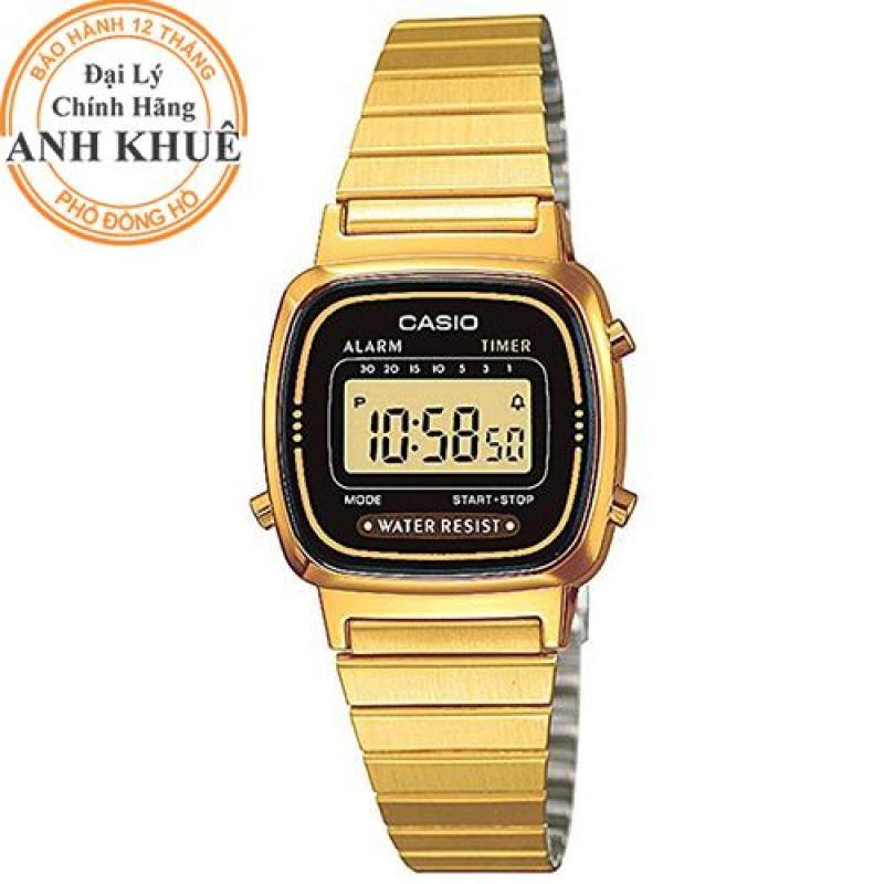 Đồng hồ nữ Casio Anh Khuê LA670WGA-1DF