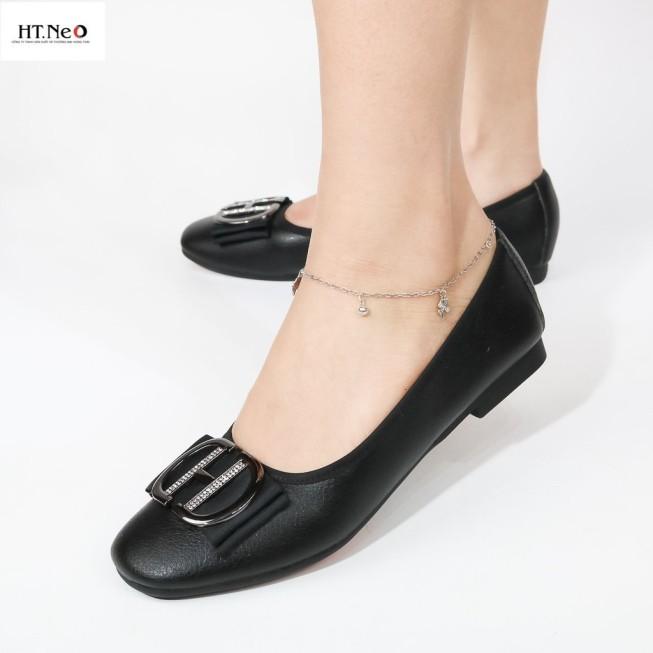 Giày Búp Bê Nữ 💖 Ht.Neo 💖 Da Bò Thật Cực Mềm, Cực Êm Chân Đi Lại Cả Ngày Không Hề Đau Chân Khi Sử Dụng Lâu Dài. giá rẻ