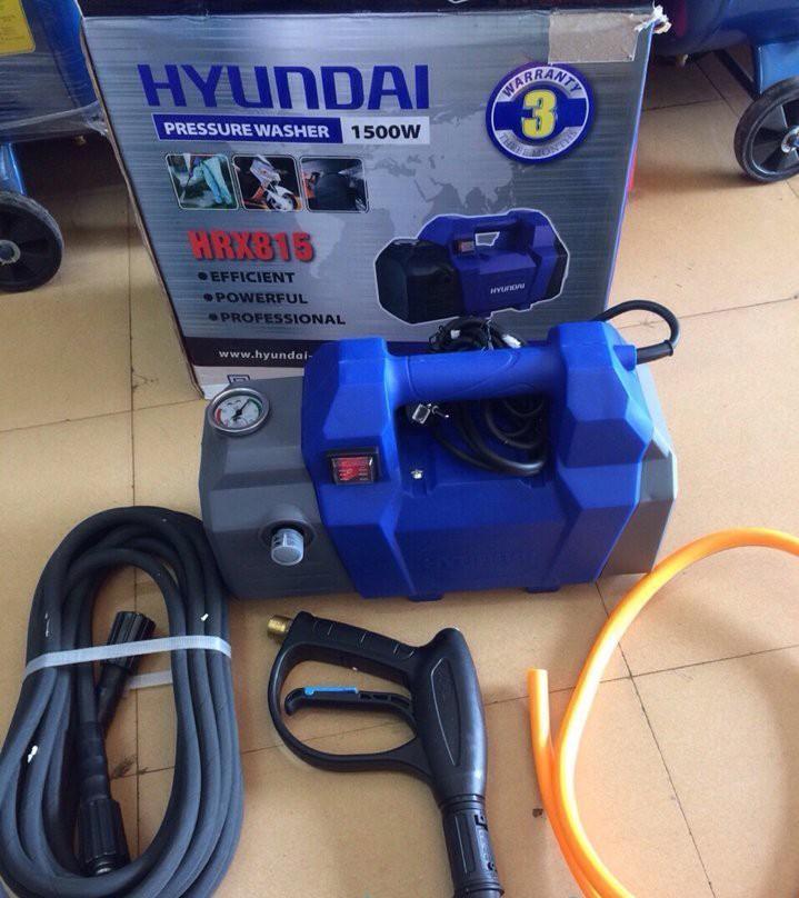Máy xịt rửa Hyundai 815 mô tơ từ Nhật Bản
