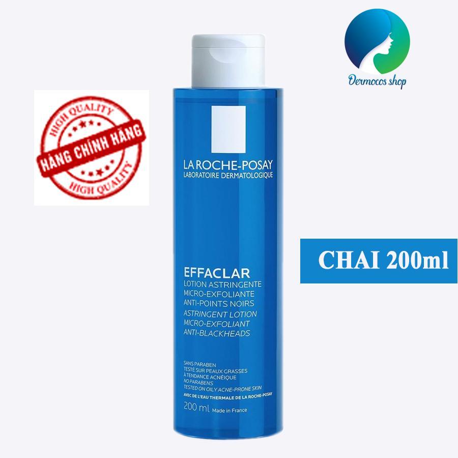 Nước hoa hồng se khít lỗ chân lông dành cho da dầu mụn La Roche Posay Effaclar Lotion Astringent Micro-Exfoliante 200ml - DMCMP072
