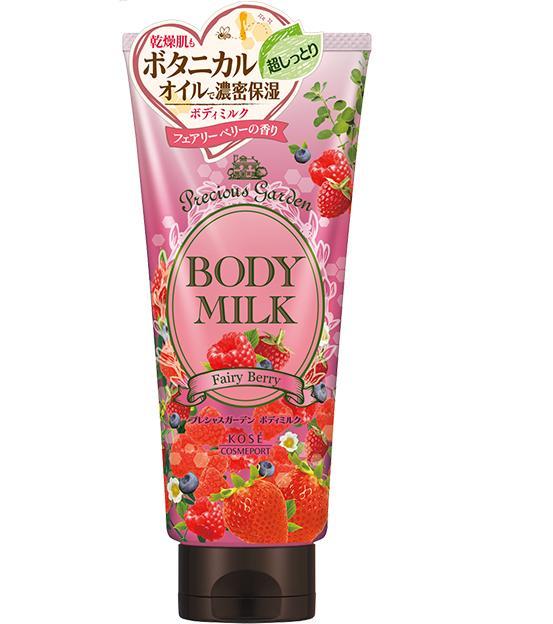 Sữa dưỡng thể Kose Body Milk Precious Garden Fairy Berry 200g (Hương dâu)