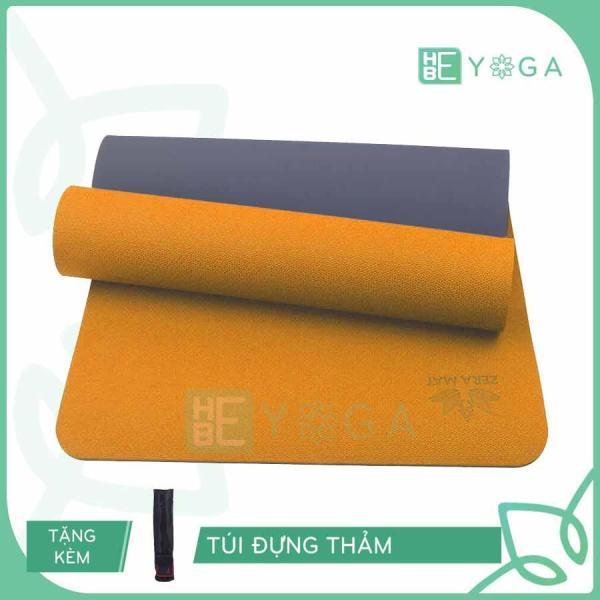 Bảng giá Thảm Tập Yoga Zera Mat 8mm 2 Lớp Tặng Kèm Túi