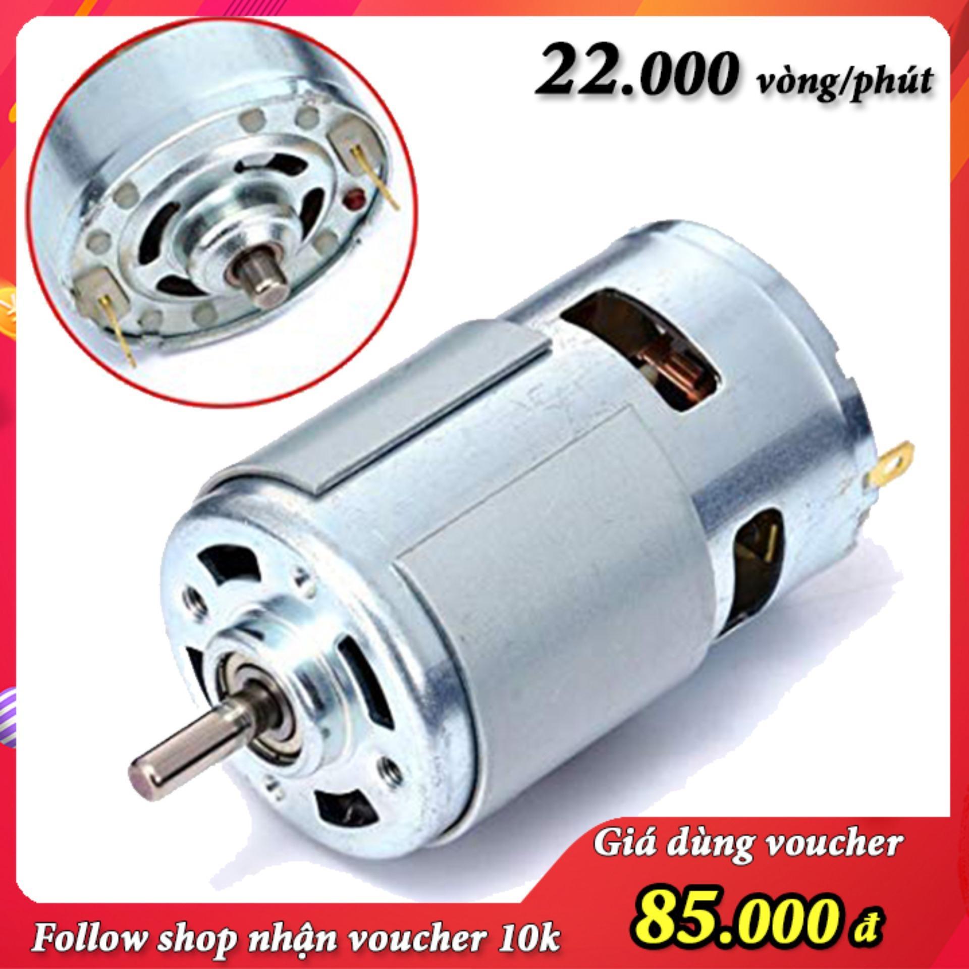 motor 775 12v tốc độ 22000 vòng - motor siêu bền cho dân diy chuyên nghiệp động cơ 775