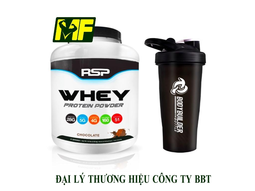 RSP Whey Protein Powder-51 lần dùng+ Bình Lắc