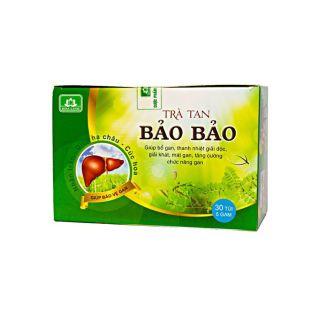 Trà tan Bảo Bảo - Mát gan thải độc hộp 30 túi thumbnail