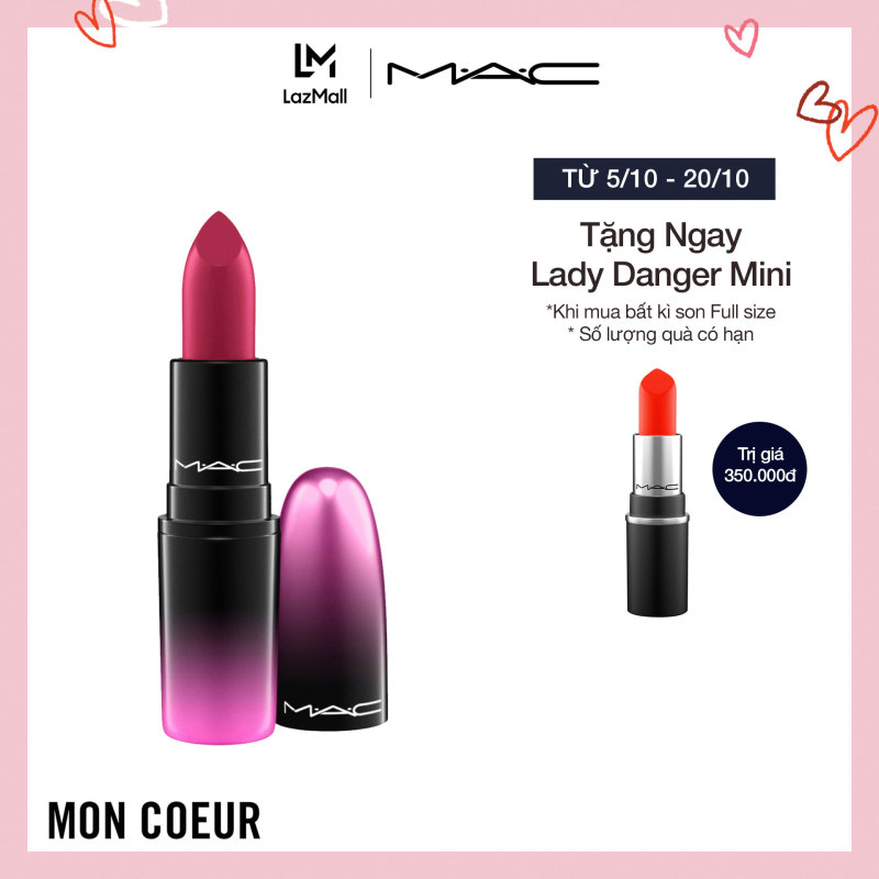 Son môi MAC Love Me Lipstick 3g